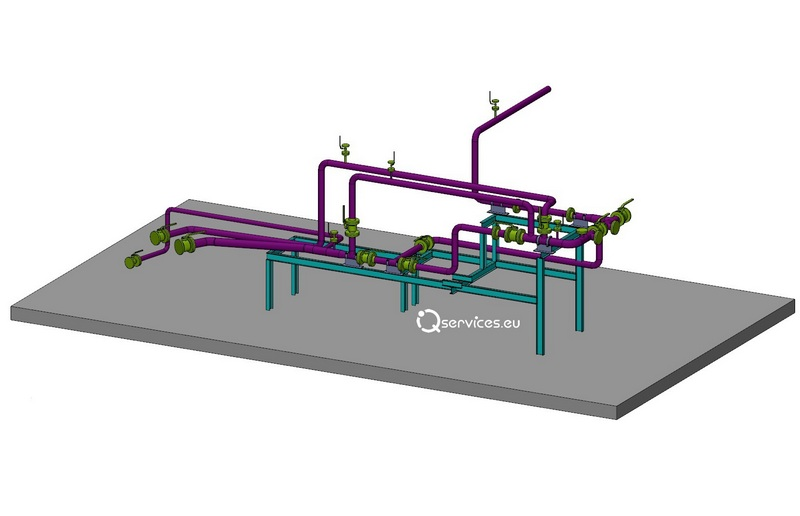 The creation of isometric drawings of pipelines | iQservices